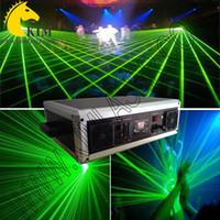 cartes sd royaume uni achat en gros de-Laser vert 2W 40Kpps avec faisceau de carte SD et lumière d'animation avec étui de protection pour projecteur de scène / d'extérieur avec logo / carte laser SD