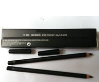 kohl eyeliner achat en gros de-Livraison gratuite! NEW EYE KOHL EYELINER PENCIL 1.45g noir (20pcs / lot)