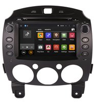 Wholesale Car Head Unit Usb Bluetooth - Android 5.1 Head Unit Car DVD Player for Mazda 2 Mazda2 2007-2013 with GPS Navigation Radio TV BT USB AUX WIFI Stereo