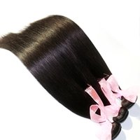 Wholesale Silky Straight Brazilian Virgin Hair Weave Malaysian Indian Peruvian Cambodian Remy Human Hair Weft Natural Color Human Hair Extensions