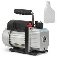 Wholesale Air Less Pump - 3CFM Electric Vacuum Pump Refrigerant R410a R134a HVAC Deep Vane Air Conditioner
