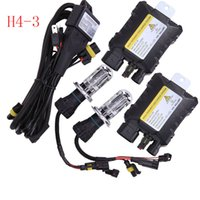 NEW 55W H4-3 4300K-12000K Bi Hi / Low Beam Xenon HID Conversion Slim Kit