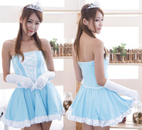 Wholesale Adult Baby Lingerie - High quality baby doll dress naughty angel costume cosplay sexy role play adult sexy girl fantasia quente hot erotic lingerie