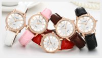 Wholesale black led fashion watches resale online - 2016 New Sale Business Women s Water Resistant Waves Leading To Ms Watch Female Fashion Really Belt Diamond The Table Set Auger Watche