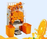 Wholesale Orange Press Machine - free shipping CE orange juicer 20 ornage per minute 110V 60Hz commercial electric orange juicing machine and orange press LLFA