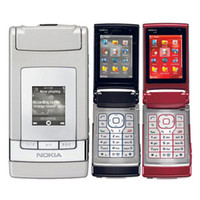 Wholesale Fold Mobile Phones - Refurbished Original Nokia N76 Flip Fold Phone Unlocked GSM 2G 3G WCDMA Symbian OS Single SIM 2.0MP Camera MP3 Video Play Smart Mobile Phone