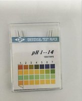 Wholesale 50pack Alkaline pH Test paper Strips Indicator Litmus Kit Testing for body level Urine Saliva PH1 Pack