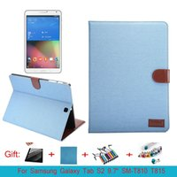 """Wholesale Galaxy S2 Cover Card - For Samsung Galaxy Tab S2 9.7"""" SM-T810 T815 Cover Cases Flip Smart Stand Cover Fundas w Card Slot"""