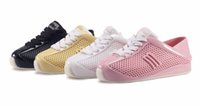 Wholesale Wholesale Heel Sneakers - Mini Melissa Girl Sports Shoes Breathable Sneakers 2017 New Melissa Children Shoes Boy Girl Sneakers Fashion Shoes For Girls