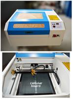 Wholesale Laser Engraving Cutting Machines - Free shipping 440 co2 laser engraving machine diy mini 50w laser cutting machine cutting plywood Coreldraw support