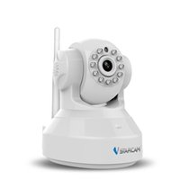black network security - C7837WIP black white Wireless Pan Tilt IP Network Camera WiFi with Two Way Audio and Night Vision CCTV Camera Security Surveillance ann