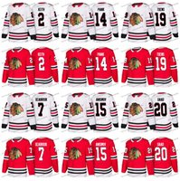 3a4c2887d 2018 New Chicago Blackhawks Hockey Jerseys 2 Duncan Keith Brent Seabrook  Richard Panik 19 Jonathan Toews Brandon Saad Artem Anisimov Jersey