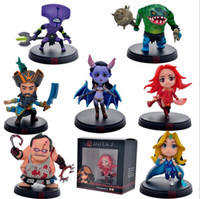 Wholesale Dota Figures - DOTA 2 Game Figure Kunkka Lina Pudge Queen Tidehunter CM FV PVC Action Figures Collection dota2 Toys