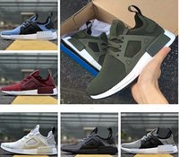 Wholesale Keychain Blue Leather - NMD XR1 Factory wholesale Boost Nipples quality Duck CAMO Green Camo XR1 NMD Runner Men Running Shoes Keychain size 36-44