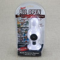 Wholesale Kitchen Gadgets Sell - All Open 8 in 1 Multipurpose Opener Replace Eight Kitchen Tool Gadget Selling Bottle Openers Red Wine Beer Decap Implement 10 mt R