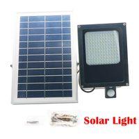Wholesale ip55 floodlight for sale - Group buy 120 LED SMD Solar Powered Panel Floodlight Body Solar Light Sensor Outdoor Garden Landscape Spotlights Lamp V W