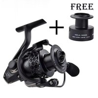 2016 Nuova Mela Peso Super Light Graphite corpo Max drag 12KG Carp Fishing Reel Spinning Reel di trasporto