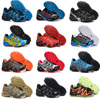 Wholesale Pink Lace Border - 2017 Zapatillas Speedcross 3 Running Shoes Men Walking Ourdoor Sport shoes Athletic Shoes Size 40-46