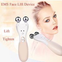 Wholesale Eyes Therapy Machine - 2016 EMS Face Lift Machine Firming slimming Facial Skin Ultra Electrical High Frequency Ion Introduction Home Skin Care Tool Beauty Device