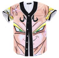 Cartoon zeichen Dragon Ball Harajuku stil teenager team uniform homme Hip Hop jacke Atmungsaktive Beiläufige moleton masculino
