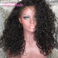 волосы бразильский парик продать оптовых-Bythair горячий продавать полный шнурок человеческих волос парики бразильский человеческих волос фронта шнурка парики естественный цвет 130% плотность с волосами младенца