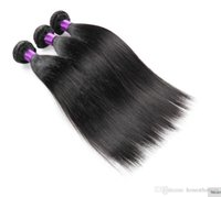 Wholesale Real Brazilian Hair Manufacturers - Brazilian Hair Weave Bundles Best 7A 100g pc 3pcs Real manufacturers selling straight hair natural color Hair A large number of wholesa
