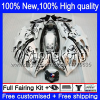 Wholesale Suzuki Gsxf Fairings - GSX750F Bodywork For SUZUKI GSX600F GSXF750 1998 1999 2000 2001 2002 Scorpion 6XH60 KATANA GSXF 750 600 GSXF600 98 99 99 01 02 Fairing kit