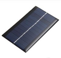 Wholesale Solar Panel Cells Monocrystalline - Solar Panel Charger 1W Portable Ultra Thin 6V USB Ports for light toys