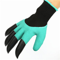 Plastic black plastic garden cover - Gloves Rubber Garden Mittens Waterproof Labor Digging Sleeve High Quality Black Plastic Claw Environmental Protection Protective Cover