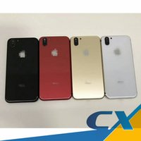 Wholesale Fit Back Door - For iPhone 6 6G 6s 7 7g plus Housing Battery Door Like iPhone X style Housing Battery Back Cover Replacement Perfectly Fit