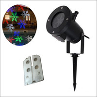 Wholesale colorful moving - RGBW 12 designs Auto Moving Colorful design Christmas Holiday Lights Outdoor Waterproof Projection Lights LED lighting