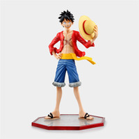 Wholesale One Piece Figure Collections - 171217 One Piece Monkey D. Luffy New World Luffy September New Arrvial Hot Sell PVC Action Figure Collection Model Toy Boxed Anime Cartoon
