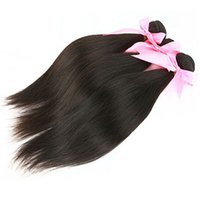 Wholesale Cheap Wholesale Hair Pieces - Brazilian hair weave MikeHAIR cheap human hair extensions natural color peruvian malaysian indian cambodian mongolian hair 3 pieces