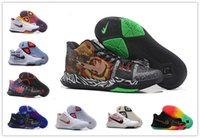 Wholesale Halloween Rubber Snakes - 2017 Eastern Finals Kyrie Irving 3 Dream Snake Lucky Hand Basketball Shoes for #3 MVP Uncle Andrew Men's Sports Sneakers Size 40-46