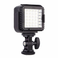 Wholesale Dv Video Light - CN-LUX360 5400K Dimmable LED Video Light Lamp for Canon for Nikon Camera DV Camcorder