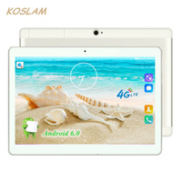 "Wholesale External 3g Wifi - 4g android 6.0 tablet pc tab pad 10 polegada 1920x1200 ips quad core 4 GB de RAM 32 GB ROM Dual SIM Card LTD FDD Chamada Phone 10 ""Phablet"
