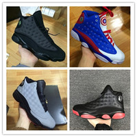 Wholesale Cheap Leather Tops For Woman - Top Quality Wholesale Cheap NEW Retro 13 13s mens basketball shoes sneakers women Sports trainers running shoes for men designer Size 7-13