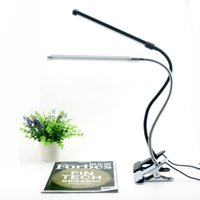 Wholesale Eye Protection Led Reading Desk Lamp With Clip Two level Brightness Switch Dimmer Table Lamp Energy Saving