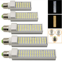 Wholesale E14 Led Bulb 14w - E27 G24 G23 SMD LED corn bulb 5050 Horizontal Plug lights led Spotlight 180 degeree 5W 7W 9W 10W 12W 14W 15W led lighting AC85-265V