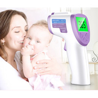 Wholesale Health Care Infrared Thermometer - non-contact body water electronic baby infrared thermometer gun digital Forehead non-contact Health care 341001