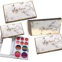 Wholesale Rainbow Eyes - 2017 New Makeup Glamierre Rainbow Your Eyes Glitter and Matte 18color Eyeshadow Palette Eye Shadows Christmas Gift free shipping