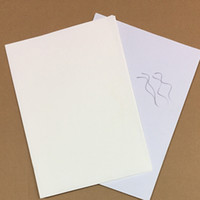 Wholesale Cotton Papers - 150 sheets printinng paper 75% cotton 25% linen pass pen test paper high quality with colored fiber A4 size