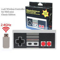 Wholesale Wireless Gaming Receiver - Wireless USB Plug and Play Gaming Controller Gamepad for Nintendo for NES Mini Buttons Classic Edition With Wrireless Receiver