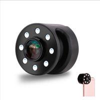 макрос кольцо привело свет оптовых-Заполнить свет объектив широкий угол макро-камеры общий мобильный телефон киосков яркость Remax клип многофункциональный портативный Selfie LED Flash Ring Profes