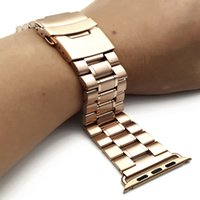 Wholesale bracelet accessories for sale for sale - Hot Sale beads Stainless Steel WatchBand For iWatch Apple Watch Band Strap Bracelet Watches Accessories mm mm with Adapter
