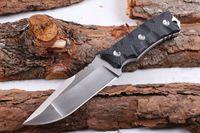 boker nouveaux couteaux achat en gros de-2017 Nouveau 2 Style Bolte Survival Droit Couteau D2 58HRC Satin Lame G10 Poignée Fixe Lame Couteaux avec ABS K Gaine