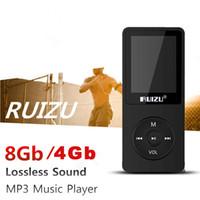"Wholesale Digital Watch Radio - Wholesale- RUIZU X02 Speaker sport 1.8""Screen 4 8GB Sport Digital MP3 Player Music Vedio Players Support TF FM HIFI Stereo Radio walkman"