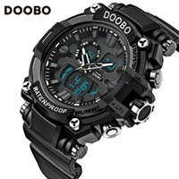 Wholesale Mens Pc Quartz Watch - Luxury Mens Watch LCD Digital Date Day Outdoor Japan Movement Quartz Wrist Sport Watch Mens Fashion Watch aaa Watches Free DHL for 50 pcs up