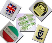 Wholesale Epoxy Resin Sticker Inch - 2 inch Round custom epoxy stickers 3D Domed Epoxy Resin Self Adhesive Stickers Custom Domed Labels