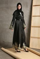 Wholesale Muslim Abaya For Sale - Islamic Clothing For Women Promotion Sale Adult Jilbabs And Abayas 2017 Abaya Dresses Ramadan Muslim Islamic Cardigan Robes